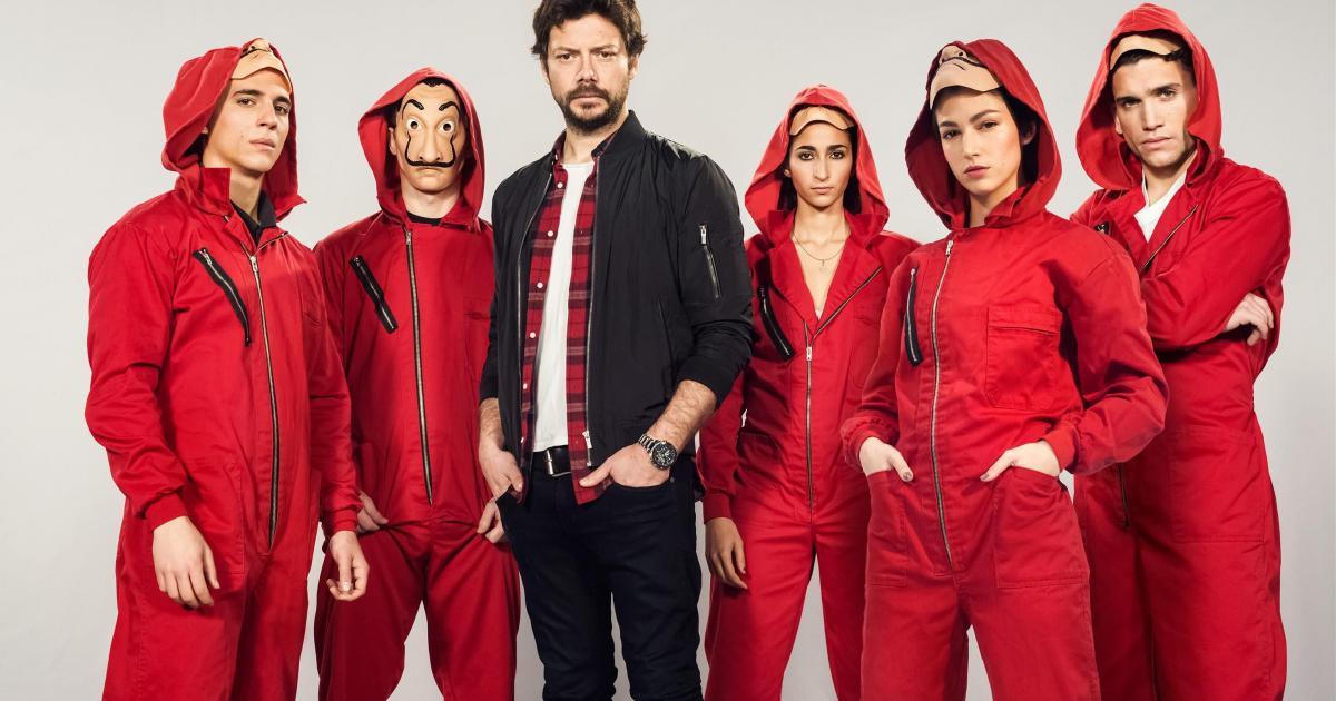 5 atores marcantes de 'La Casa de Papel'