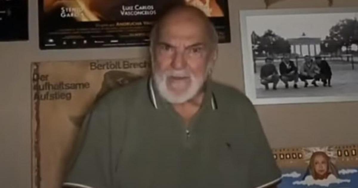Em vídeo, Lima Duarte se despede de Flávio Migliaccio