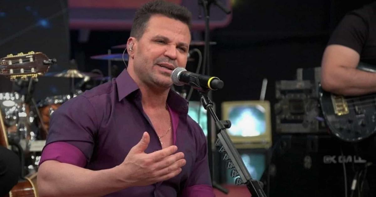 Cantor Eduardo Costa volta atrás e anuncia nova live, após polêmicas nas redes sociais