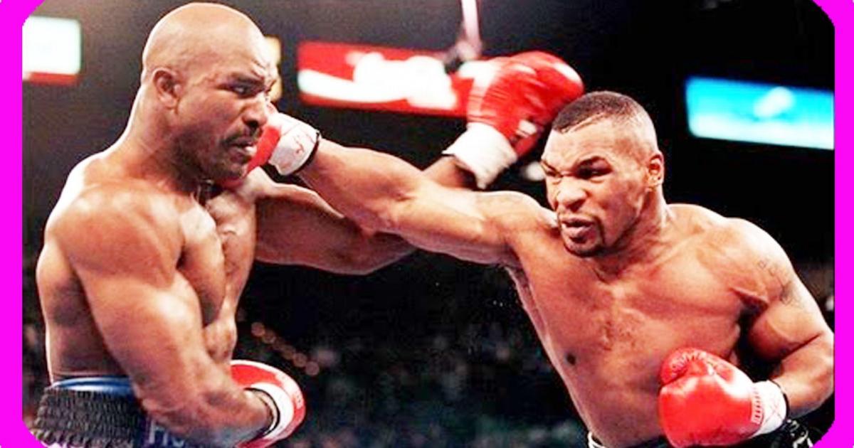 Lutadores de boxe Mike Tyson e Evander Holyfield anunciam volta aos treinos