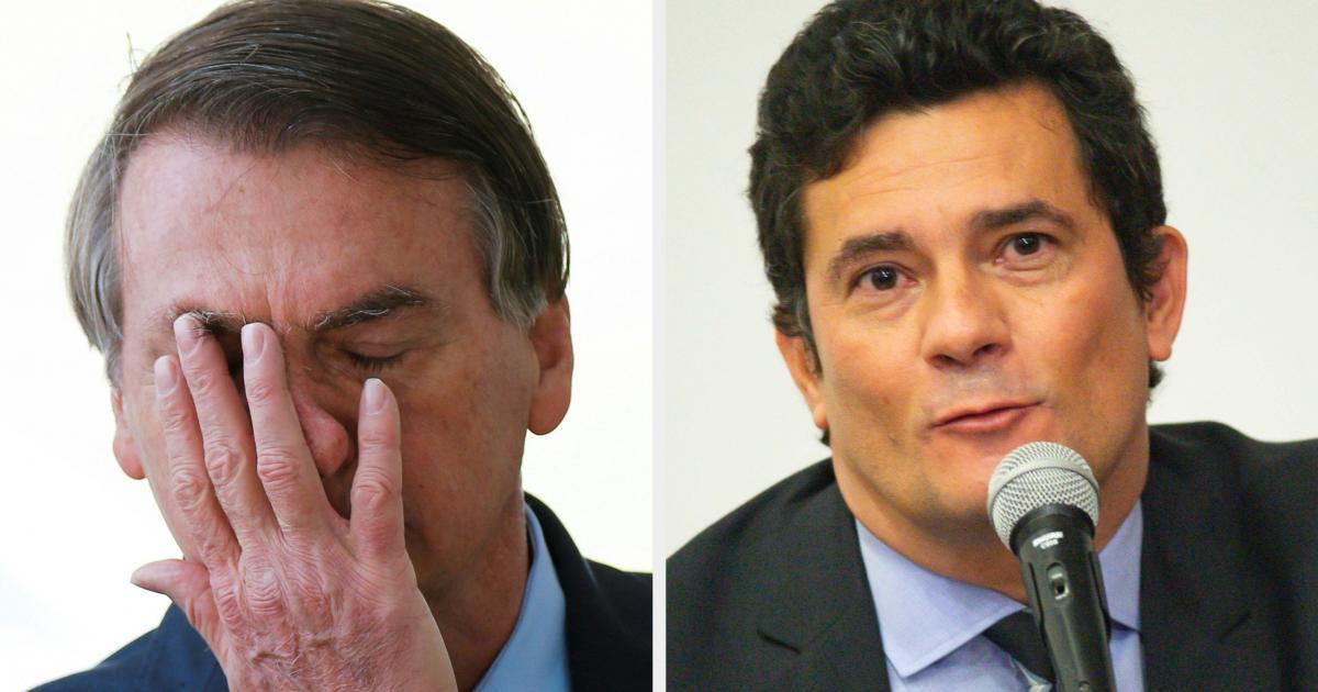 Moro diz que vídeo de reunião ministerial confirma a interferência de Bolsonaro na PF