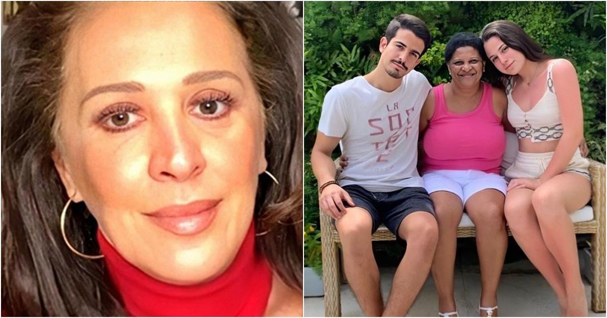 Claudia Raia lamenta morte de babá de seus filhos, vítima da pandemia: 'vá em paz'
