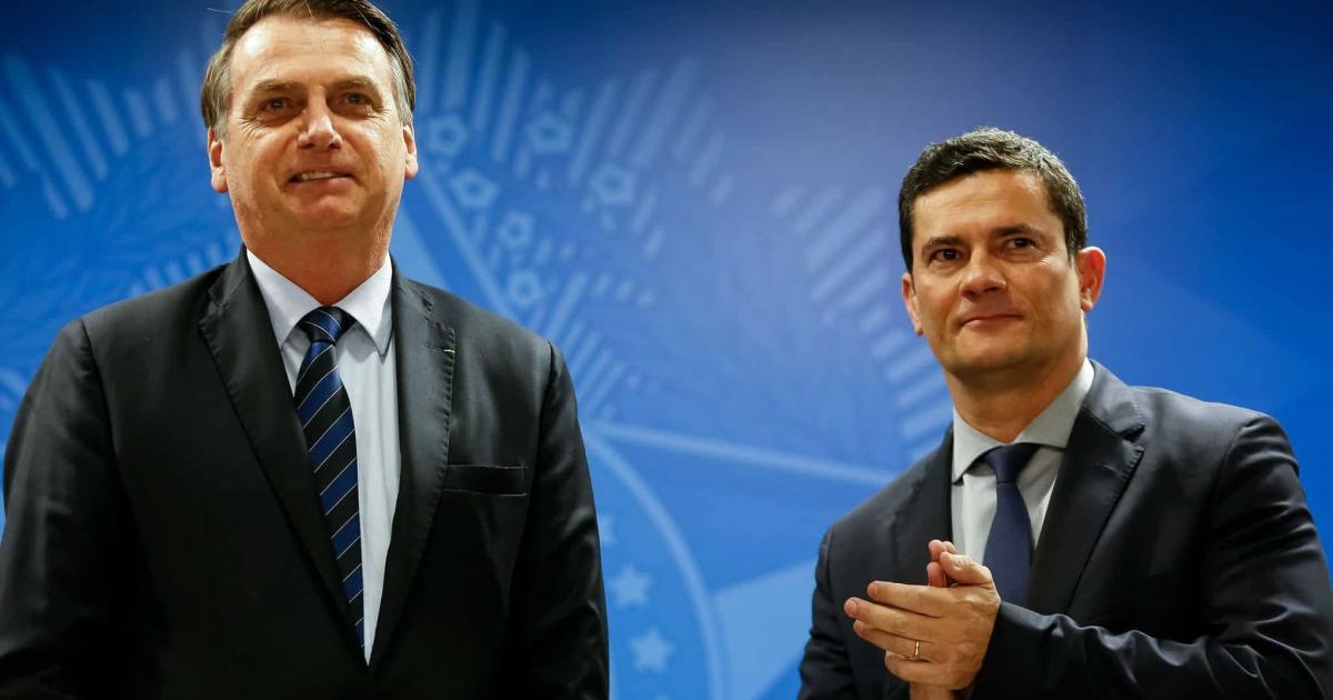 Sergio Moro relembra conversa polêmica com Bolsonaro sobre investigação contra fake news