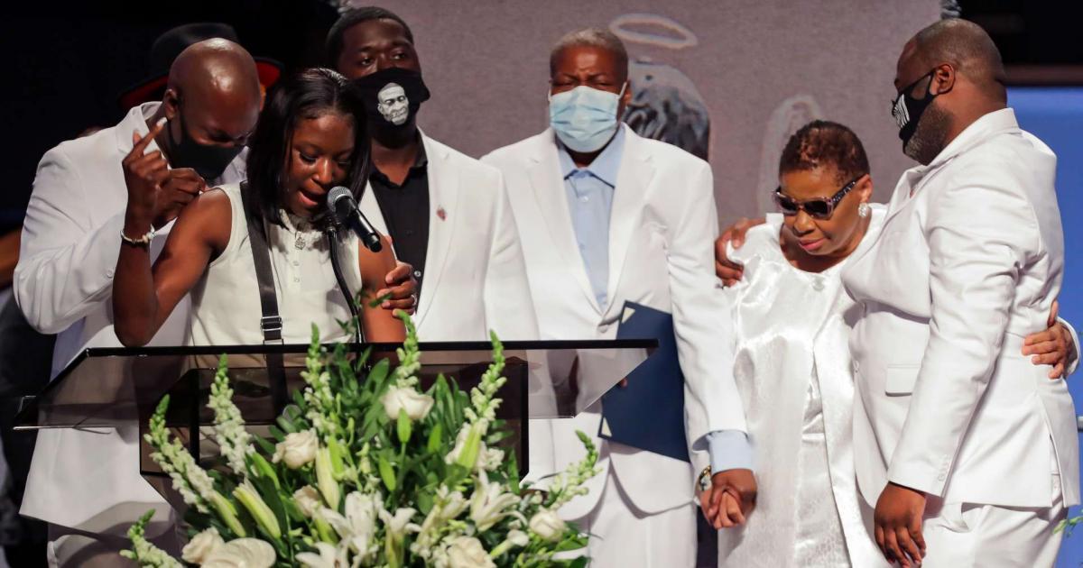 Corpo de George Floyd é enterrado em Houston