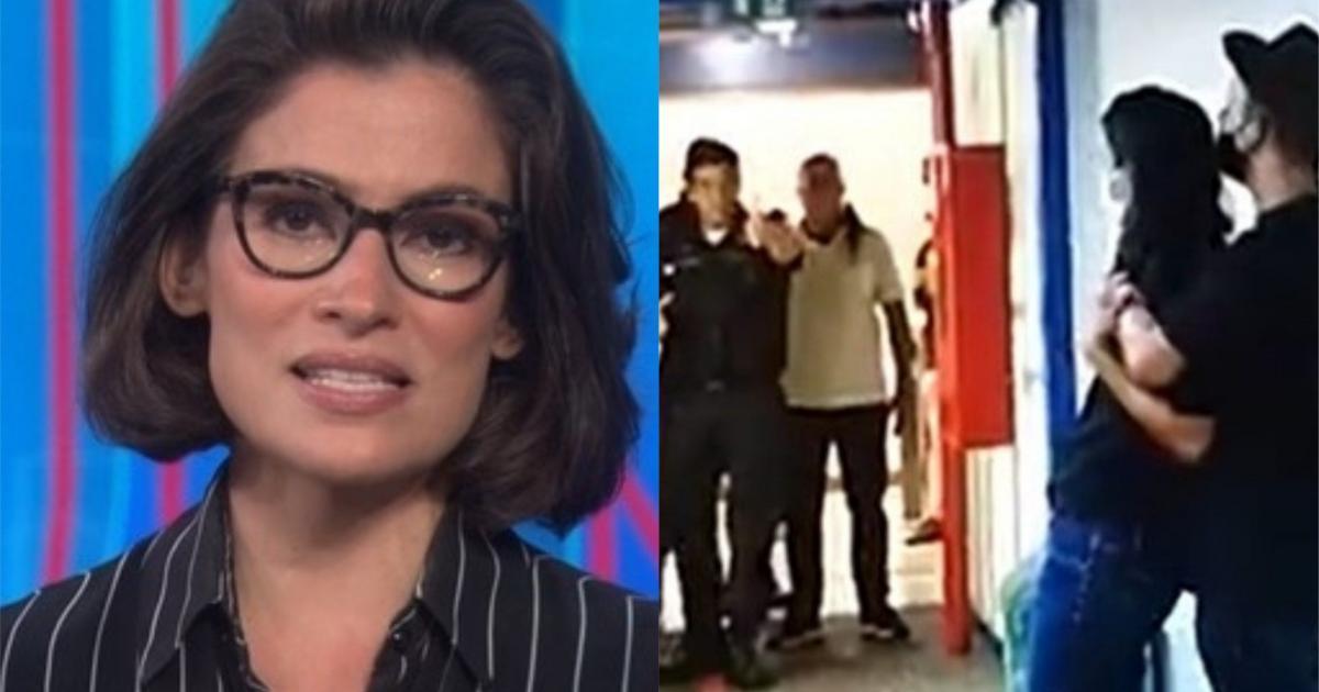 Após ataque à Globo, Renata Vasconcellos fica aos prantos e teme ameaças, diz colunista
