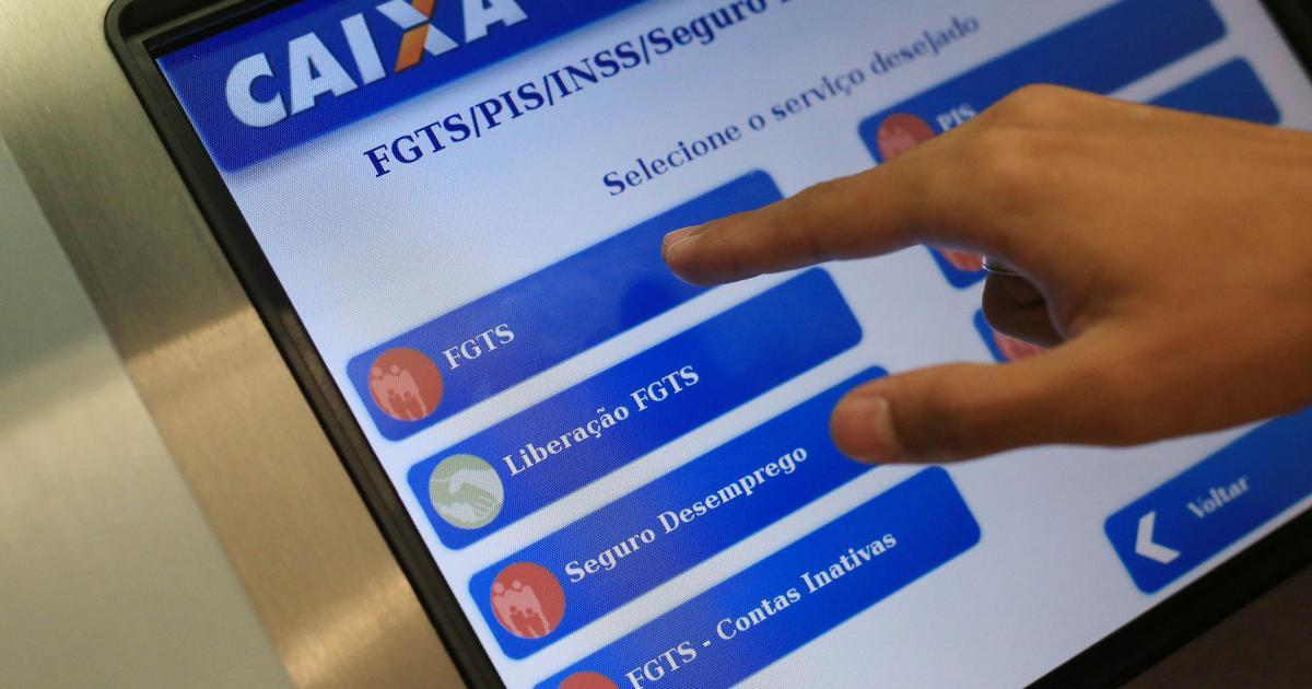 Caixa divulga novo calendário de saque do FGTS