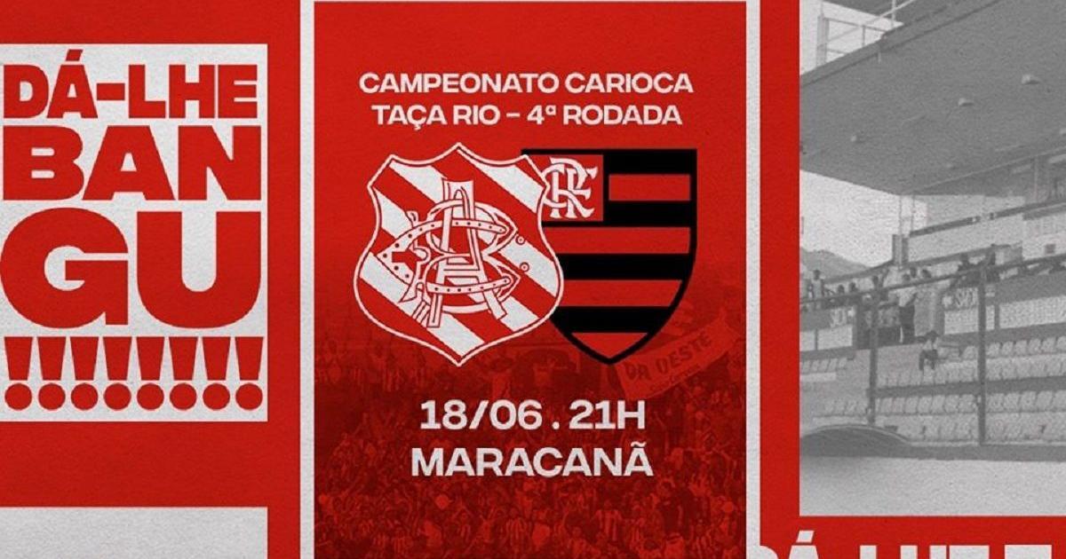 Bangu x Flamengo: tudo sobre a partida que reabre o Campeonato Carioca