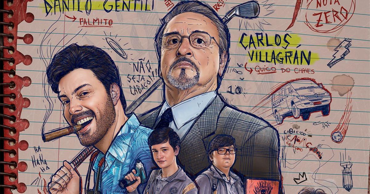 5 atores do filme 'Como se Tornar o Pior Aluno da Escola'