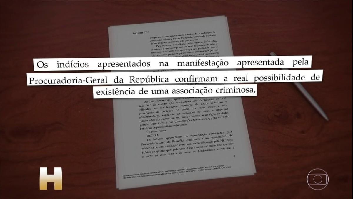PF intima Moro a depor como testemunha em inquérito no STF sobre atos antidemocráticos