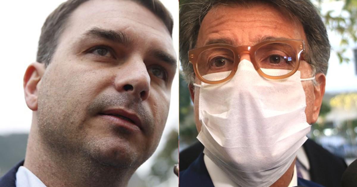 TRF se manifesta a favor da acareação entre Flávio Bolsonaro e Paulo Marinho