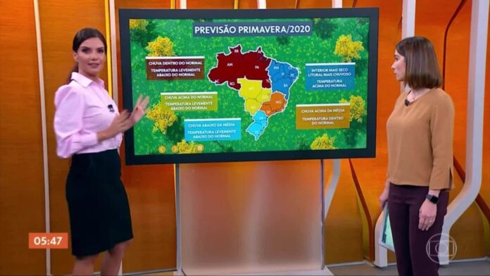 Primavera 2020: estação deve trazer chuva para o Pantanal e o resto do país, exceto o Nordeste