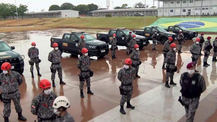 Força Nacional envia bombeiros para reforçar combate a incêndios no Pantanal